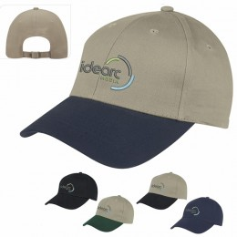 Promotional Twill Cap with Heat Transfer Imprint -  Best Promotional Hats