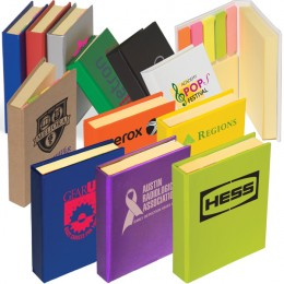 Imprinted Custom Sticky Note Book with Many Sizes for Giveaways