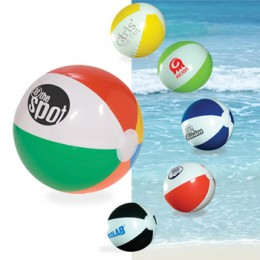 PVC Color Beach Ball Custom Logo