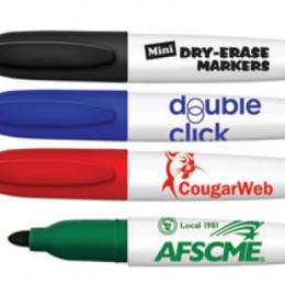 Mini Dry Erase Marker with Key Ring Cap