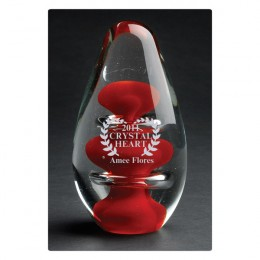 Mars Glass Award - 5 Inch