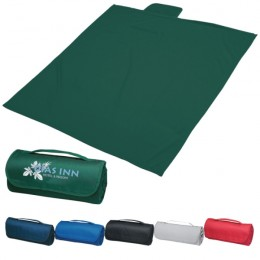 Sweatshirt Roll-Up Blanket with Logo