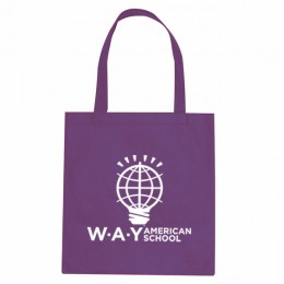 Trade Show Polypropylene Tote Bag - Purple