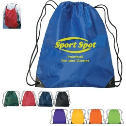 Large Drawstring Sports Pack- Best Promotional Cheap Drawstring Backpacks -
