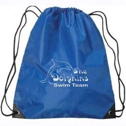 Large Drawstring Sports Pack - Royal Blue