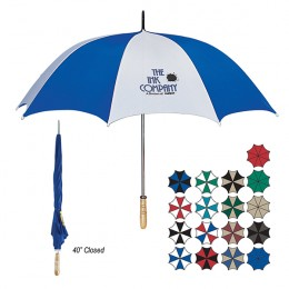 Large promotional golf umbrella