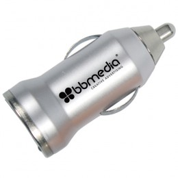 USB Car Adapter - Silver