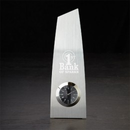 Metal Trophy Clock