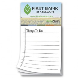 To Do List Promotional Magnet Notepads with logo - business card magnets