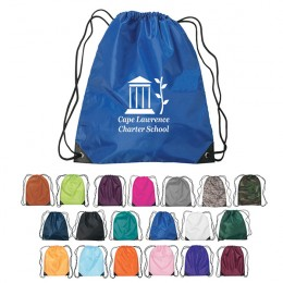Drawstring Sports Packs – Best Business Logo Wholesale Drawstring Backpacks - Royal Blue