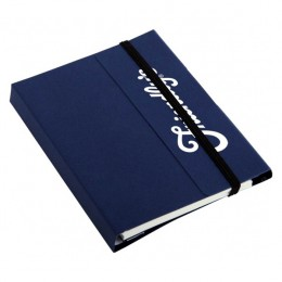 Small Tuck Journal Book - Blue