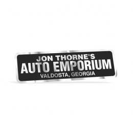 Bumper Stickers Chrome Rectangle