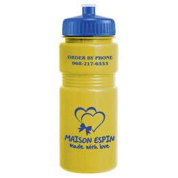 Sport Bottle- Opaque 20 oz-Push Pull Lid
