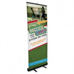 Medium Retractable Banner Stand