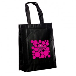 Best Promotional Recycled Tote Bags - Patent Finish Pleather Tote