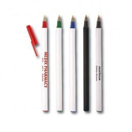 Brittany Stick Pen | Cheap Promotional Pens in Bulk | Discount Pens with Logo Imprints | Customized Marketing Pens