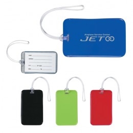 Promotional Luggage Identifiers with Full Color Imprint for your Business