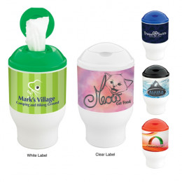 Wet Wipes Container Cup-60 Sheets