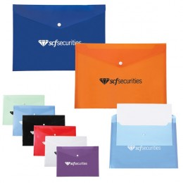 Polypro Document Folder Custom Logo
