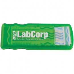 Lime Green Imprinted Bandage Dispenser-Primary Care