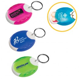 Pill Box Key Tag
