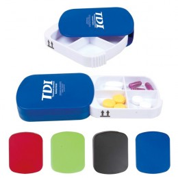 Pill Case-Four Section