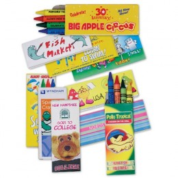Premium Box of 4 Crayons - Fully Customized