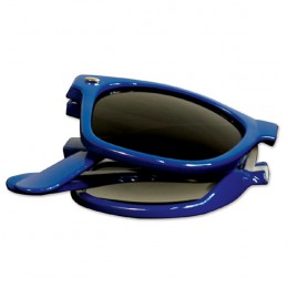 Blue Foldable Sunglasses-Blues Brothers