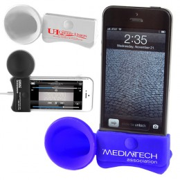 iPhone Stand and Speaker Megaphone