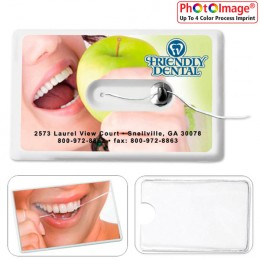 Card Dental Floss with Mirror and Pouch