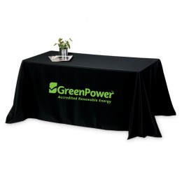 Table Cover Throw-6 Foot-Four Sided