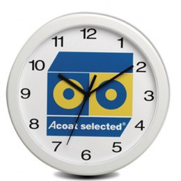 Economy Oversized Wall Clock-12 Inch-Full Color