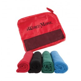 Sideline Fleece Blanket in Pouch