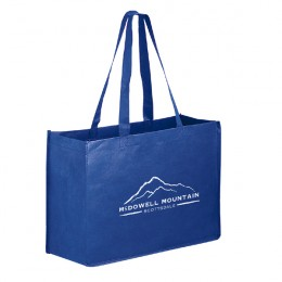Recycled Grocery Tote Bag 16 x 12 - Promotional