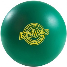 Dark Green Color Squeeze Ball Custom Logo