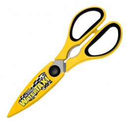 Utility Scissors - Custom-Magnetic Holder - Yellow