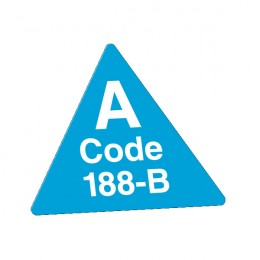 Special Shape Labels - Small Triangle Promotion
