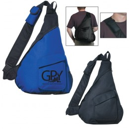 Sling Backpack Promotional Custom Imprinted With Logo