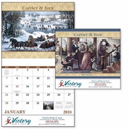Currier & Ives Wall Calendar