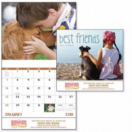 Best Friends Wall Calendar