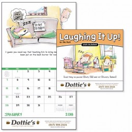 Laughing It Up Wall Calendar