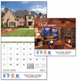 Welcome Home Wall Calendar