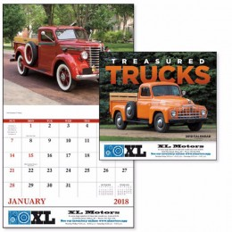 Treasured Trucks Wall Calendar