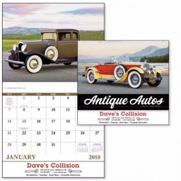 Antique Autos Wall Calendar