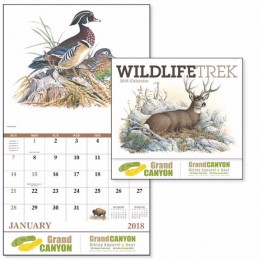 Wildlife Trek Wall Calendar