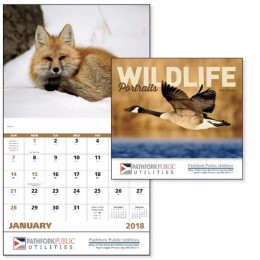 Wildlife Portraits Wall Calendar