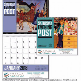The Saturday Evening Post Premium Appointment Calendar