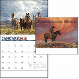 American West Premium Appointment Calendar