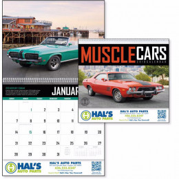 Muscle Cars Premium Appointment Calendar