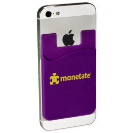 Econo Silicone Mobile Device Pocket with Logo